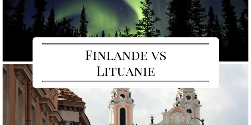 Finlande VS Lituanie : trouve ton stage à l'étranger !