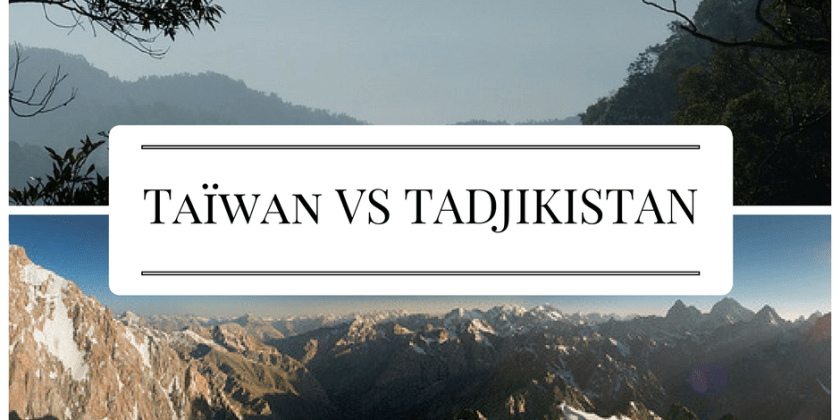 Taiwan VS Tajikistan: find your internship abroad!