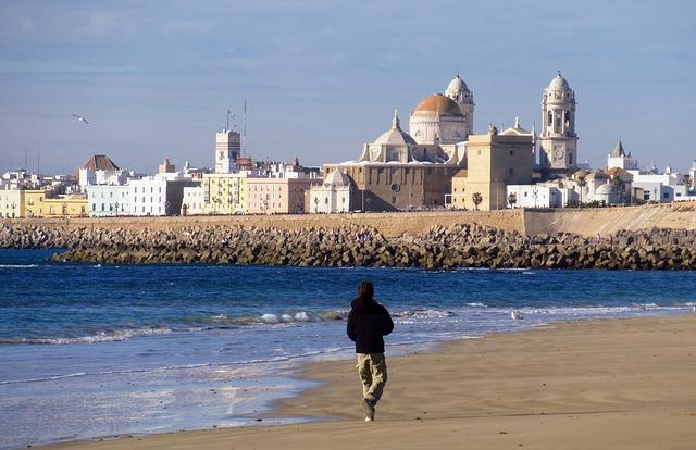 Top 10 visits in Cadiz