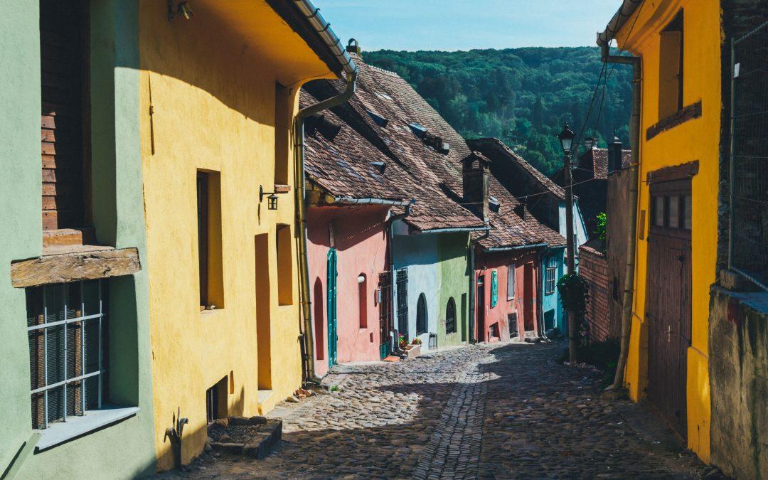 Je suis en Roumanie, où voyager pendant mon stage à l'étranger ?