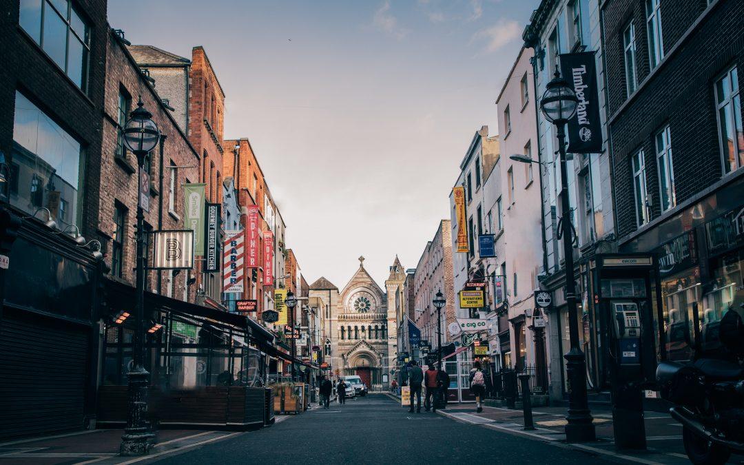 Je suis en Irlande, où voyager pendant mon stage à l'étranger